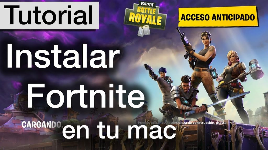 Como-descargar-Fortnite-en-MAC