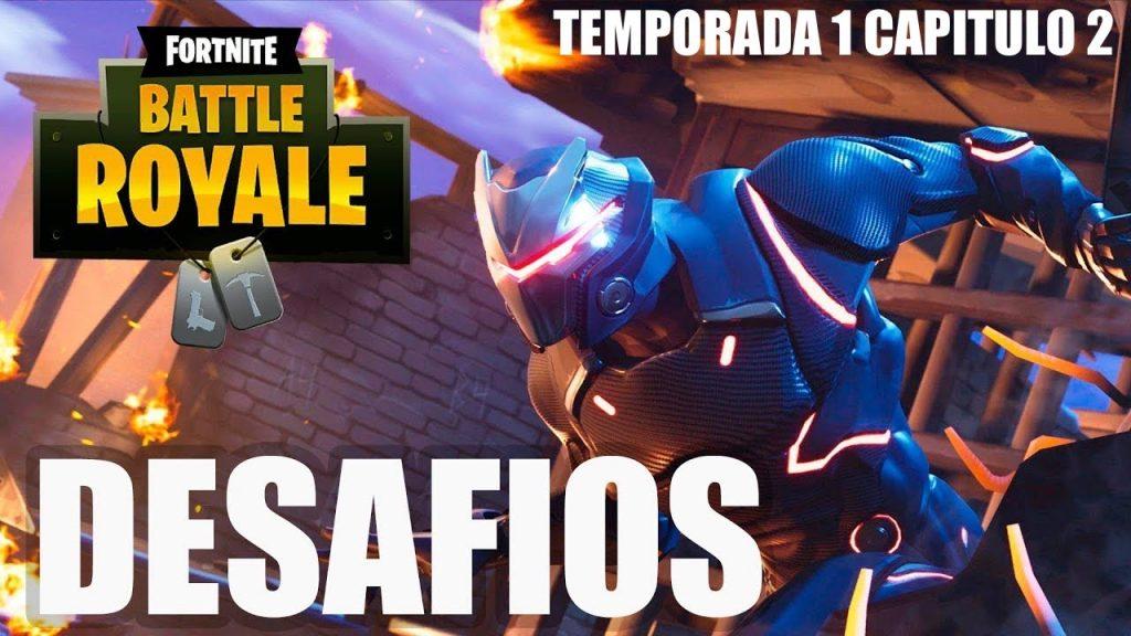 Desafíos de Fortnite Battle Royale Temporada 1 Capitulo 2