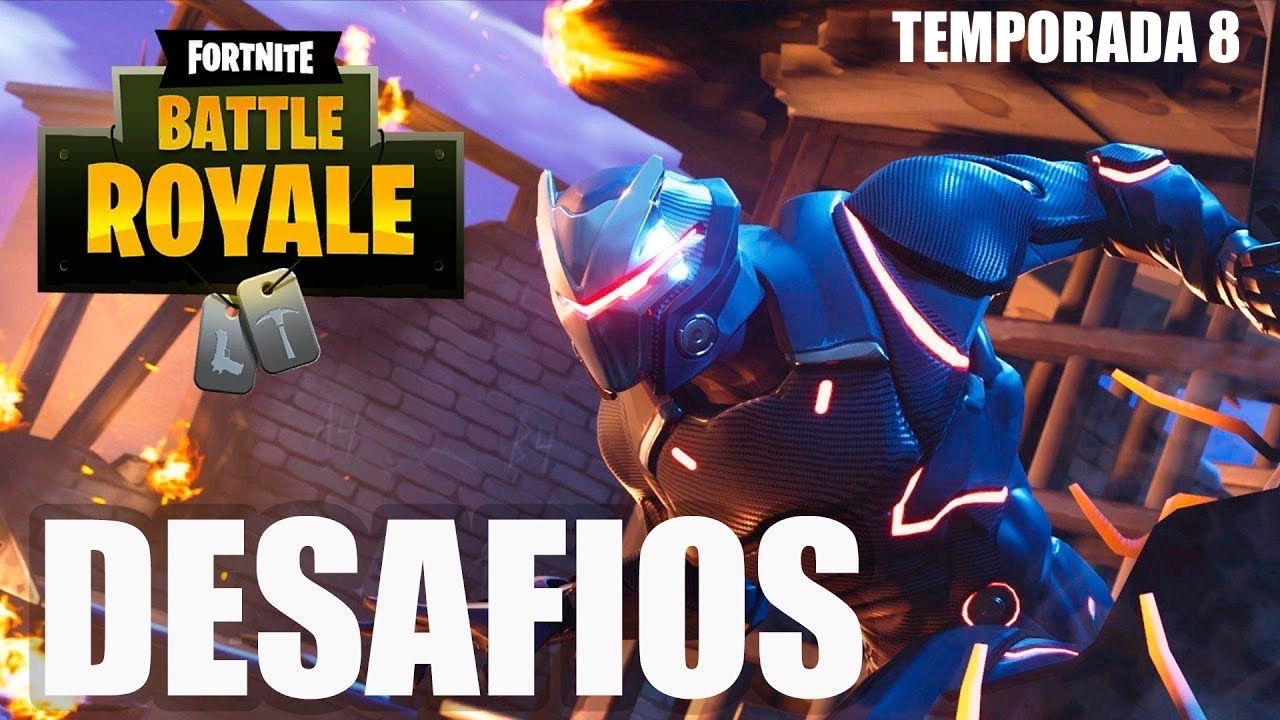 Desafíos de Fortnite Temporada 8