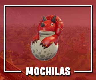 Mochilas de Fortnite