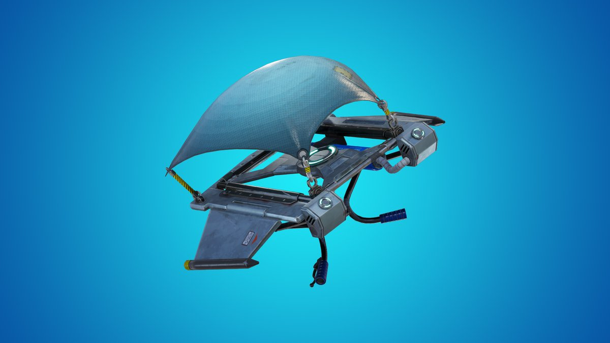 Paracaídas de Fortnite