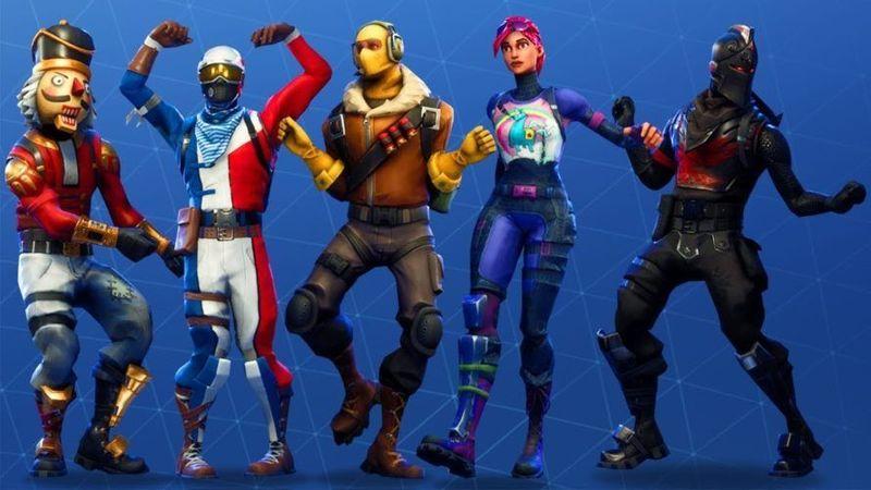 personajes de Fortnite