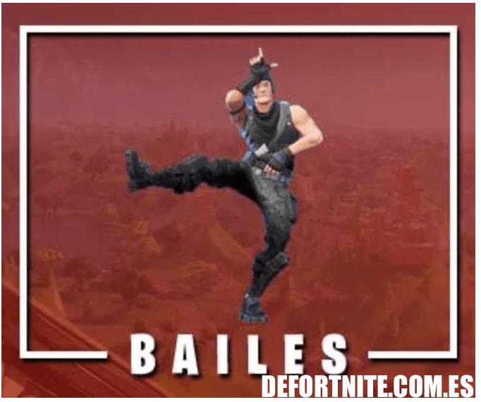 Bailes en Fortnite