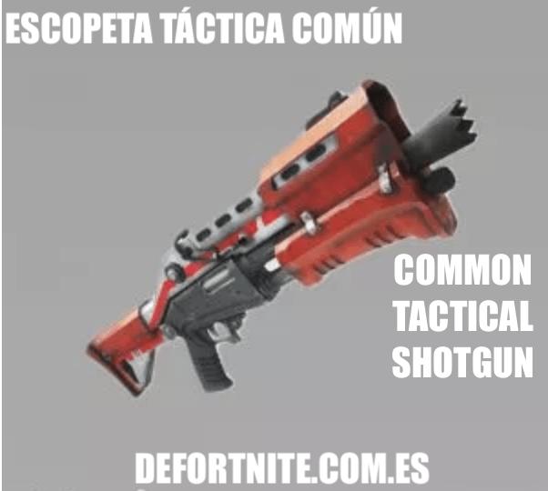 Escopeta táctica común