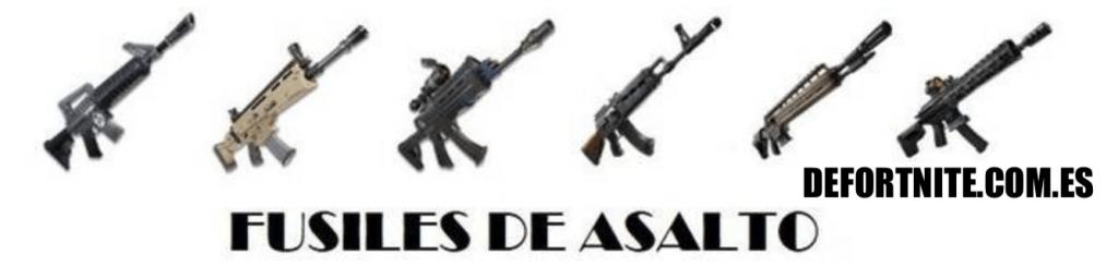 Fortnite - Armas: Fusiles de asalto