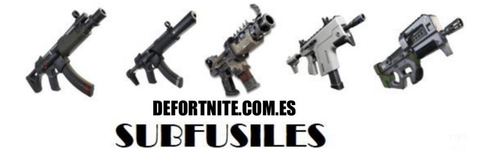 Fortnite - Armas: Subfusiles