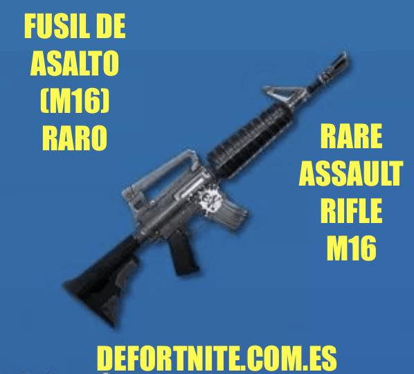 Fusil de asalto M4 raro
