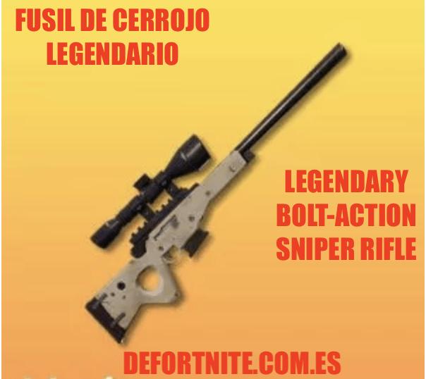 Fusil de cerrojo legendario
