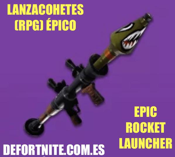 Lanzacohetes épico