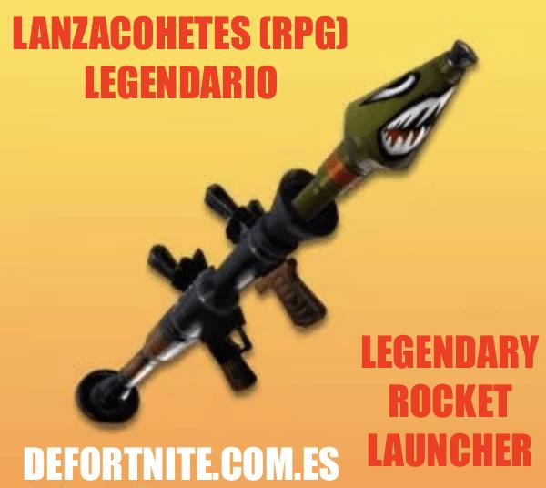 Lanzacohetes legendario