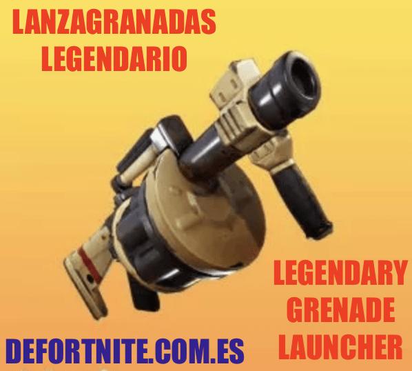 Lanzagranadas legendario