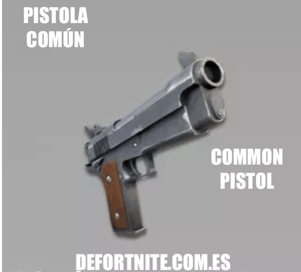 Pistola común