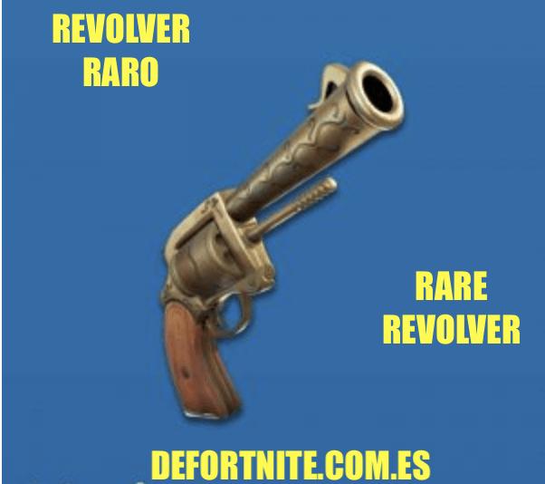 Revolver raro