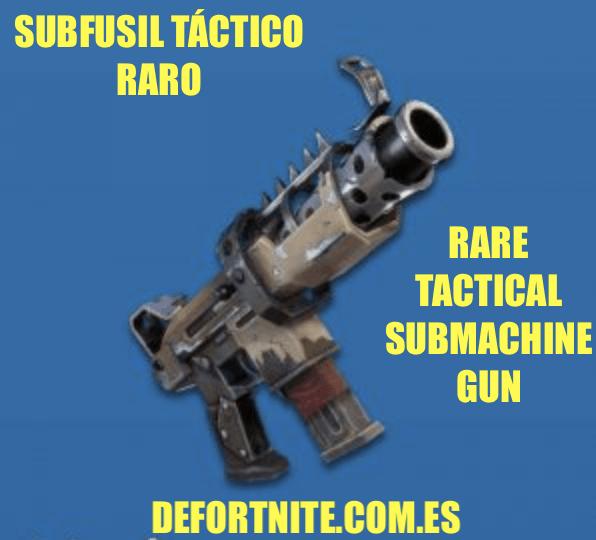 Subfusil-táctico-raro