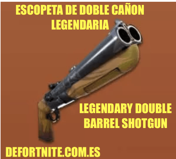 escopeta de doble cañon legendaria