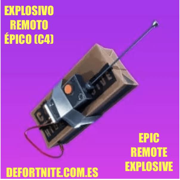 explosivo remoto epico
