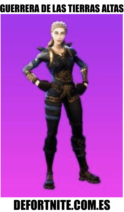 guerrera de las tierras altas