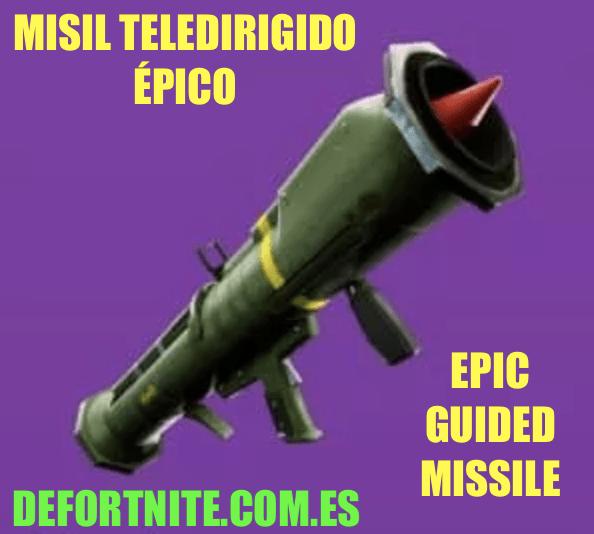 misil teledirigido epico