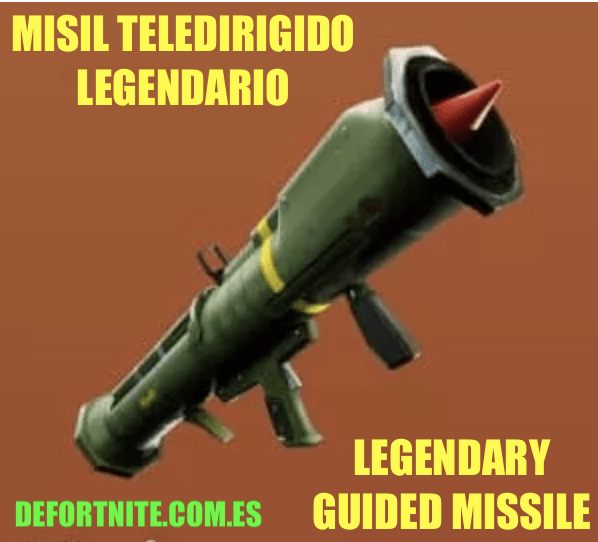 misil teledirigido legendario
