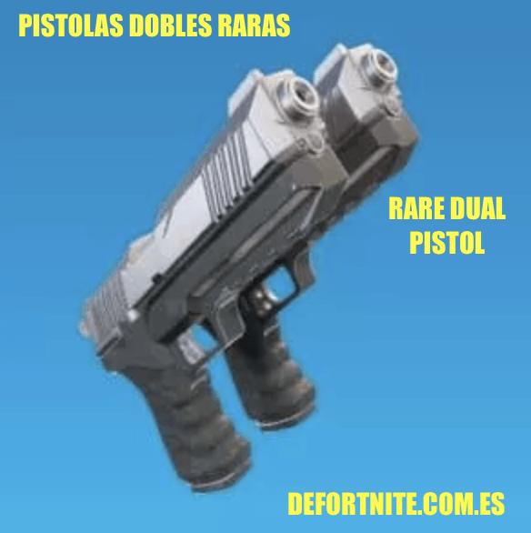 pistolas dobles raras