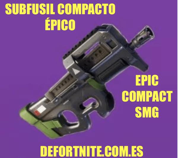 Subfusil compacto épico