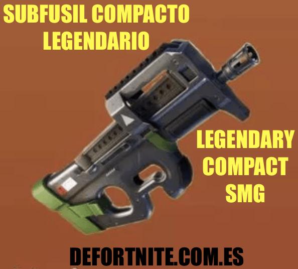 subfusil compacto legendario