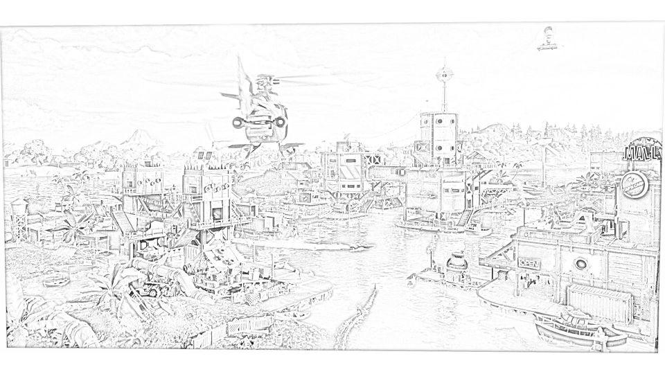 Dibujos de Fortnite Para Colorear 11