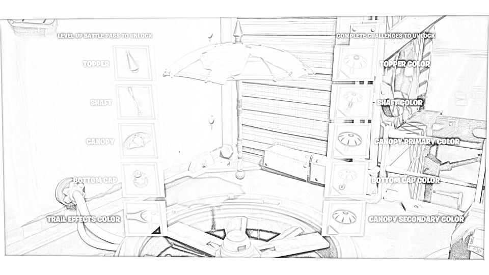 Dibujos de Fortnite Para Colorear 8