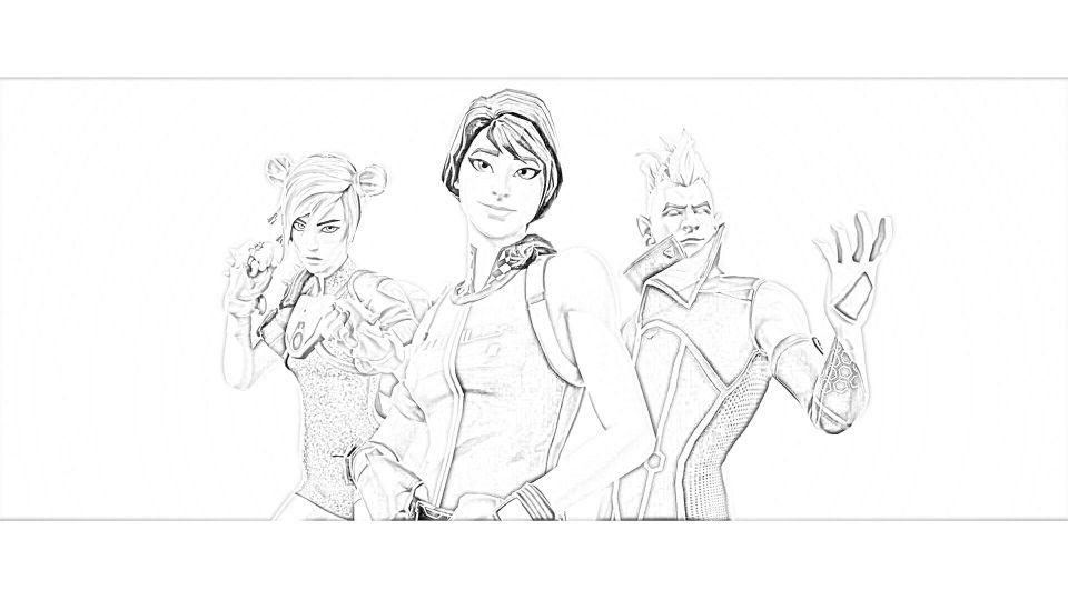 Dibujos de Fortnite Para Imprimir. 5