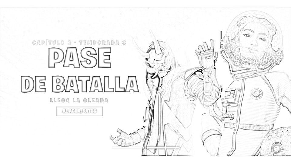Dibujos de Fortnite Para Imprimir. 6