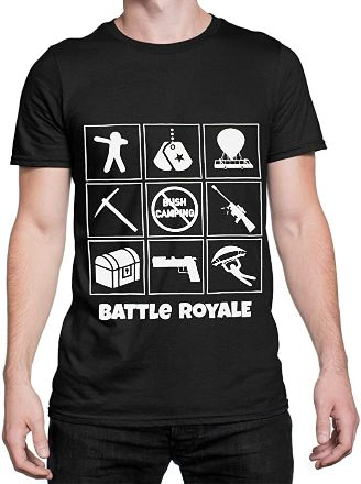 Battle-Royale-Camiseta-Hombre-Gaming