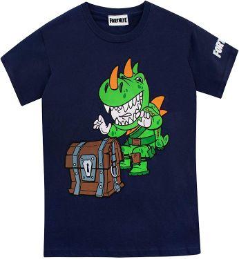 Fortnite-Boys-T-Shirt-Blue-Years-Camisetas-de-Fortnite